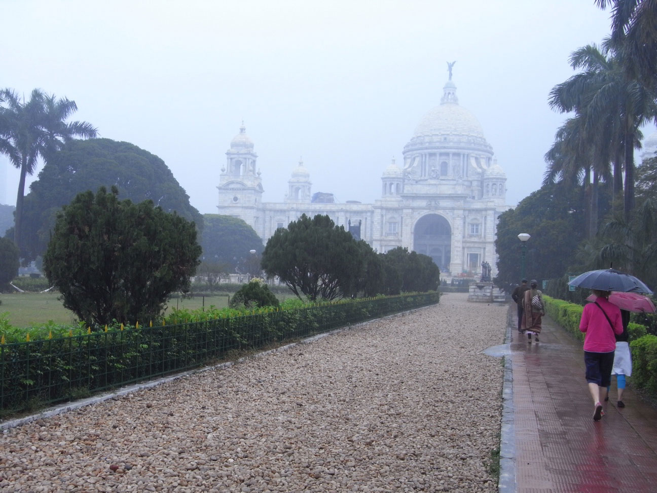 Victoria Memorial designed by Lord Curzon