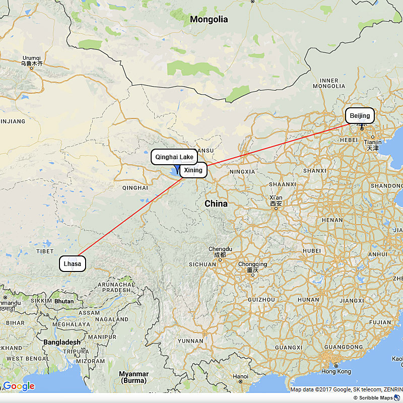 Beijing to Tibet by Train Image 1