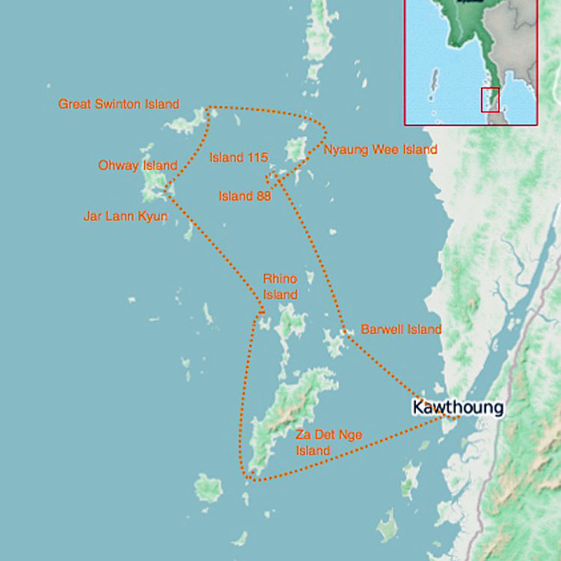 Sailing The Mergui Archipelago with Burma Boating Image 1