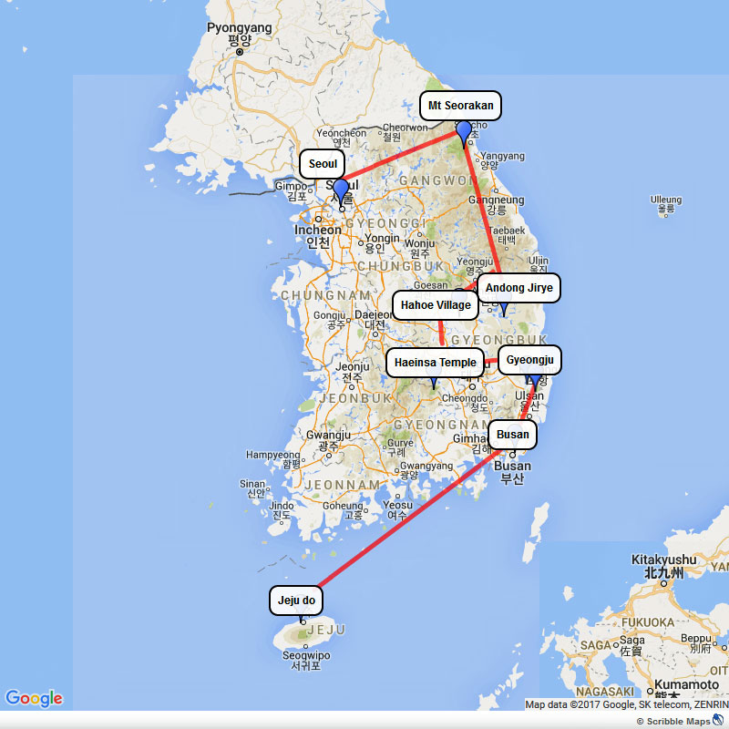 Comprehensive South Korea Tour Image 1