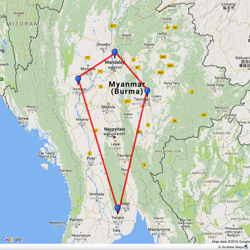 Essential tour of Myanmar Image 1