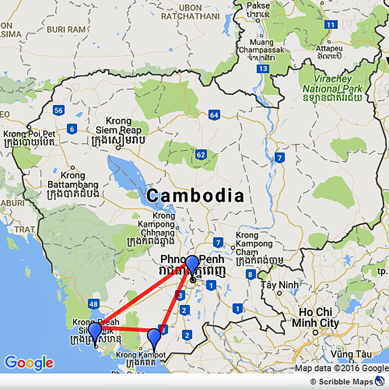 Expedition to Cambodia's South Coast, Kep and Sihanoukville Image 1