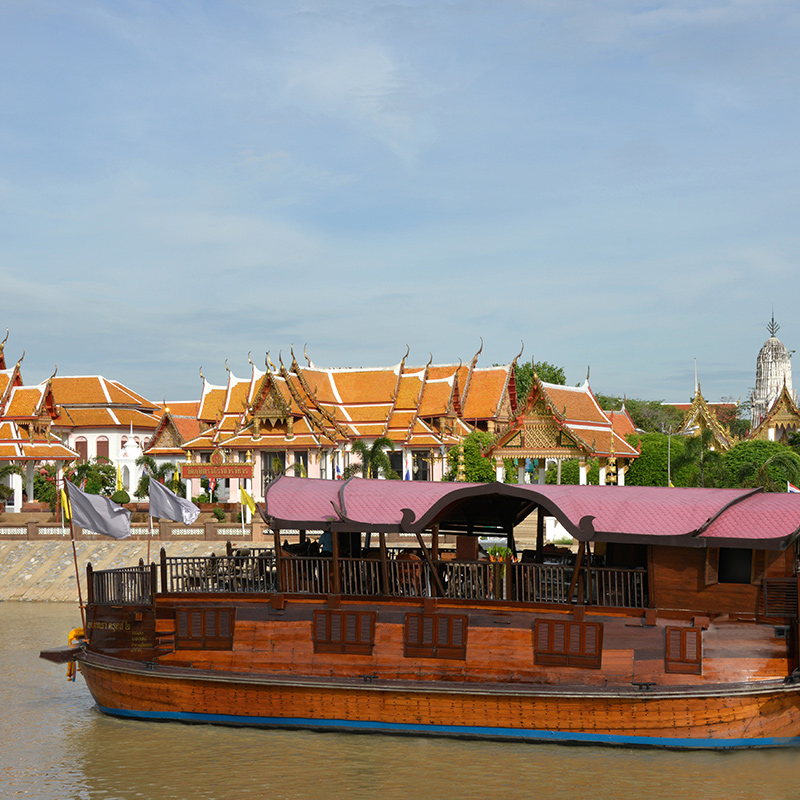 Cruising in Thailand along the River of Kings Image 1
