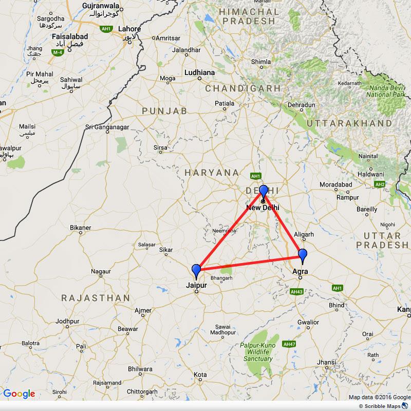 India Golden Triangle Tour Delhi Agra Jaipur Eastravel