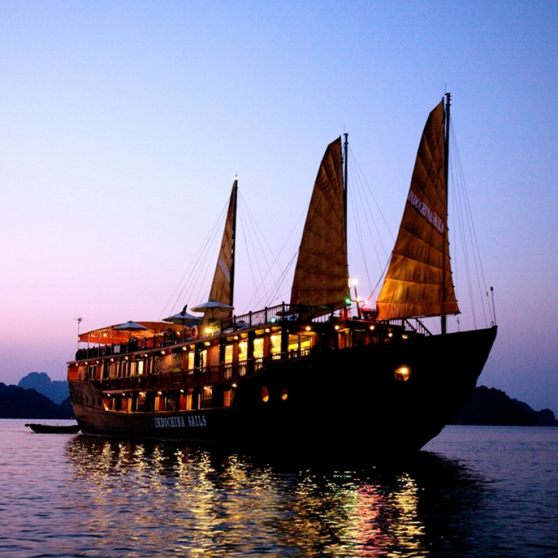 Cruising in Ha Long Bay with Indochina Sails Image 2