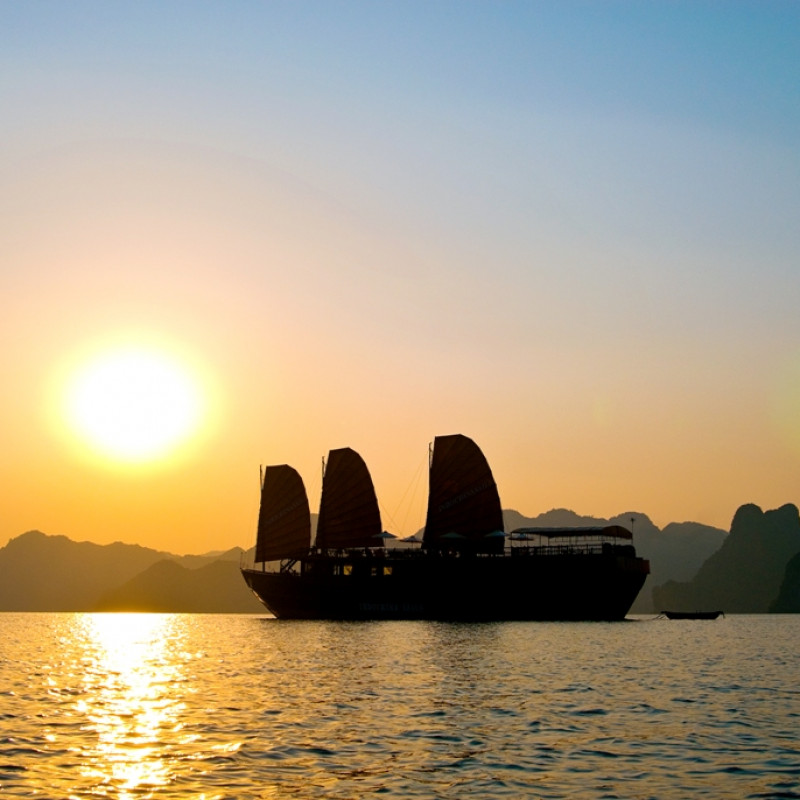 Cruising in Ha Long Bay with Indochina Sails Image 3