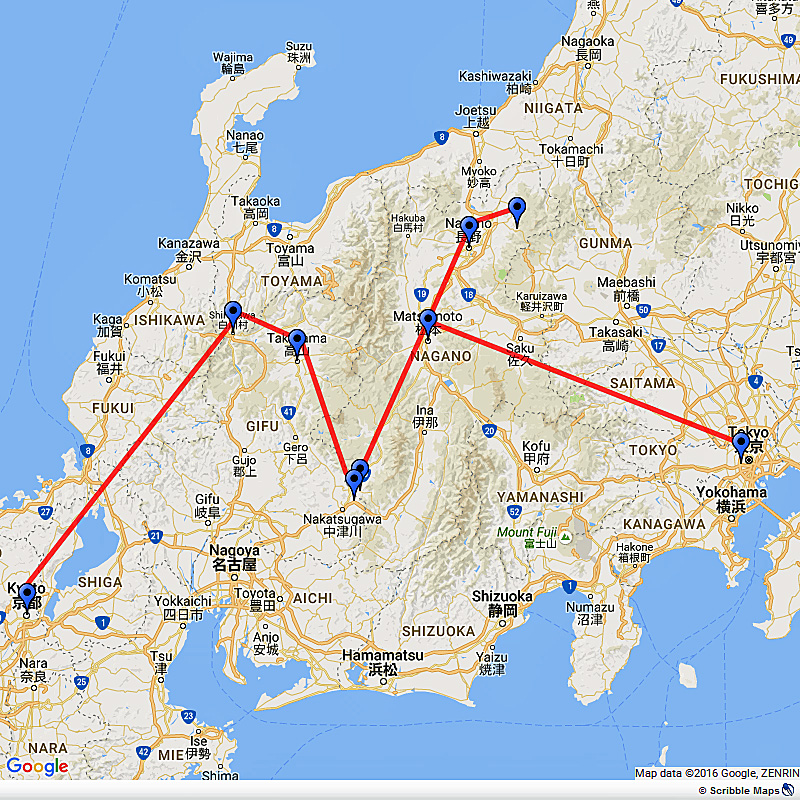 Japanese Alps, Snow Monkeys and Heritage Sites tour of Japan Image 1