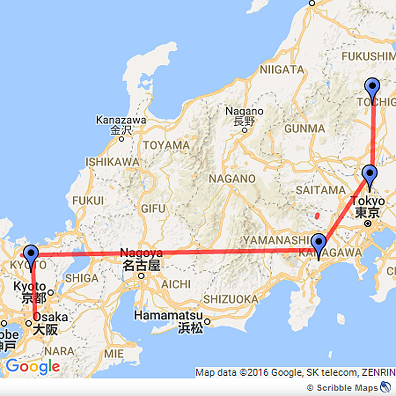 Japan's Golden Route from Tokyo to Kyoto Image 1