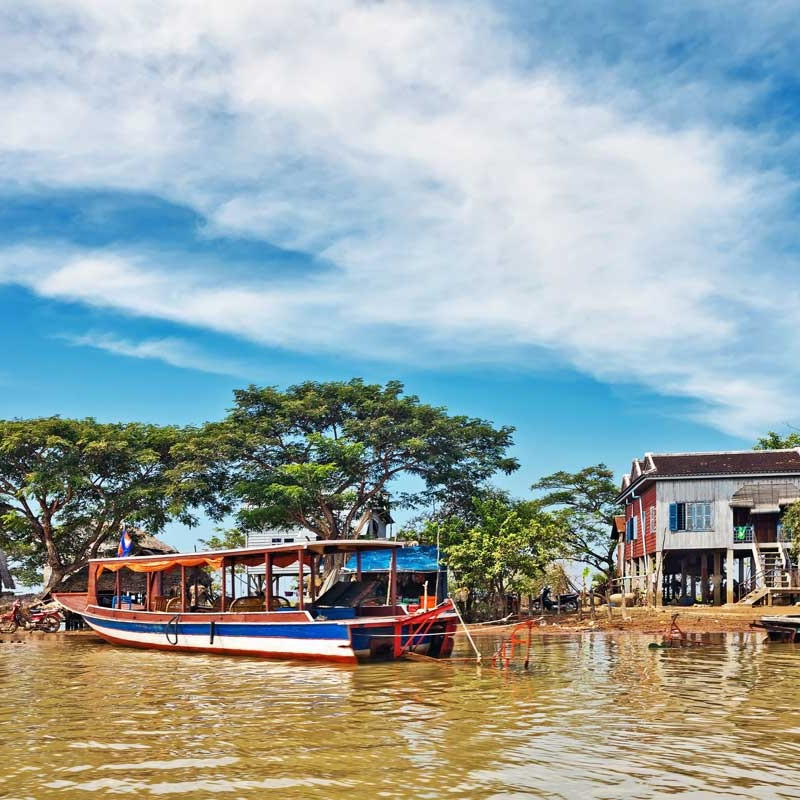 The Lost Civilisation: a cruise on the Mekong with Jayavarma ... Image 7