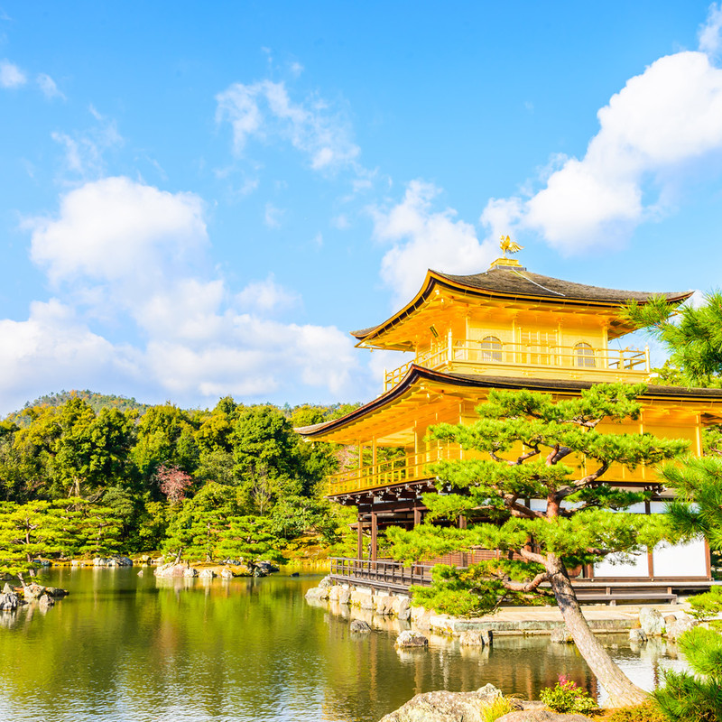Japan's Golden Route from Tokyo to Kyoto at a glance