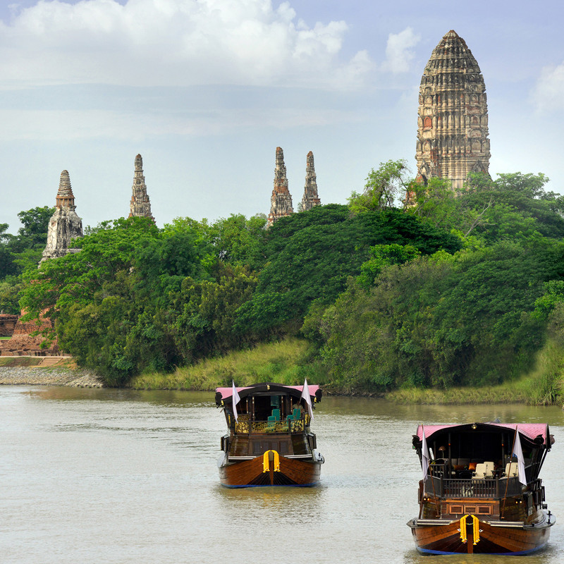 Cruising in Thailand along the River of Kings at a glance