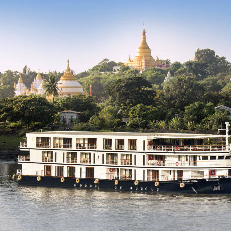 Myanmar River Cruise: Sanctuary Ananda at a glance