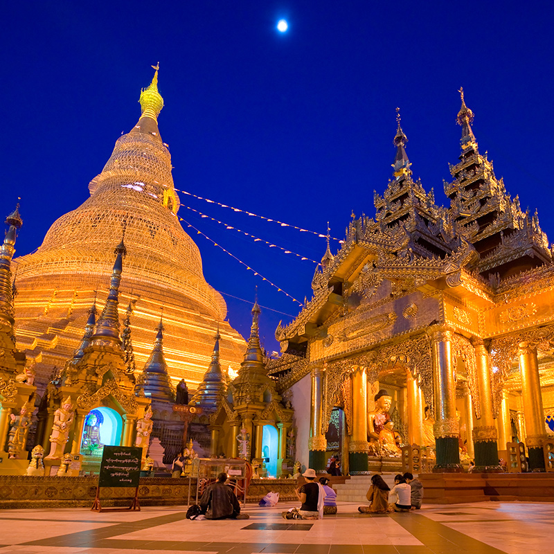 Essential tour of Myanmar at a glance