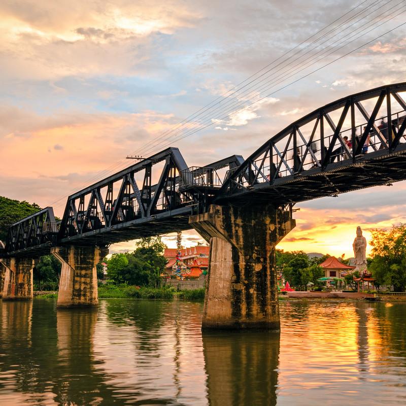 River Kwai And Kanchanaburi Thailand Holidays Eastravel